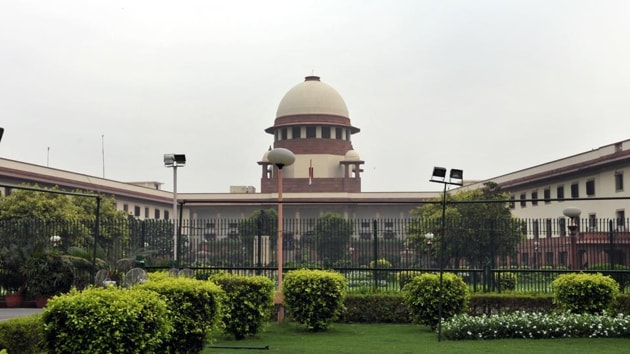 """The bench was initially reluctant to entertain the matter and asked the petitioner's counsel Prashant Bhushan to approach a high court. """"Let us have the advantage of the high court order,"""" the Justice Bobde said.(HT Photo)"""