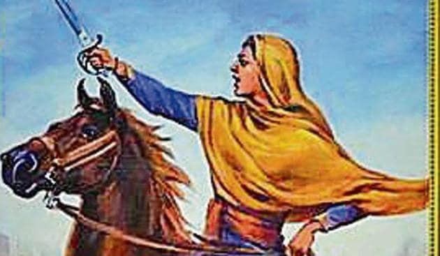 Sada Kaur was the wife of Gurbaksh Singh Kanhaiya who was killed by Ranjit Singh's father Maha Singh