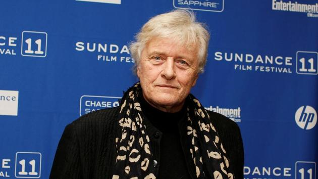 Actor Rutger Hauer of the movie The Mill and the Cross, poses for the media before the screening of the film during the Sundance Film Festival in Park City, Utah, January 23, 2011.(REUTERS)