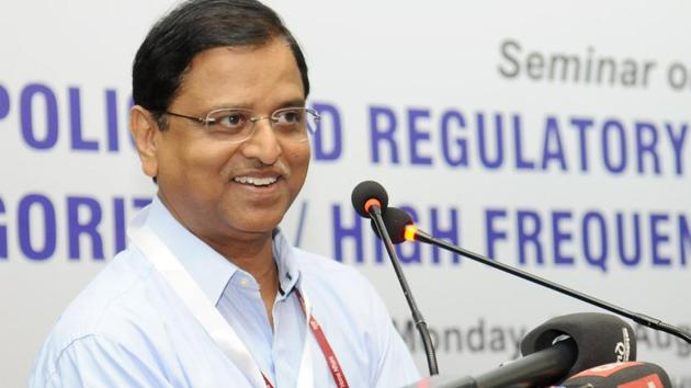 Senior IAS officer Subhash Chandra Garg who has been transferred as power secretary has requested for voluntary retirement.(File photo)