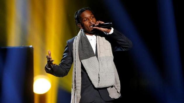 US rapper A$AP Rocky will be tried for assault in Sweden.(REUTERS File Photo)
