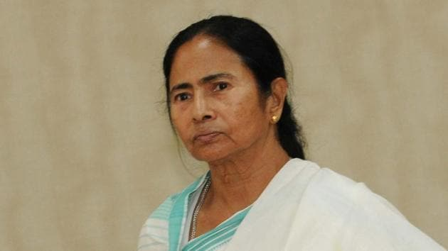 West Bengal Chief Minister Mamata Banerjee requested Prime Minister Narendra Modi to call an all-party meeting on public funding of elections.(Subhankar Chakraborty/HT PHOTO)