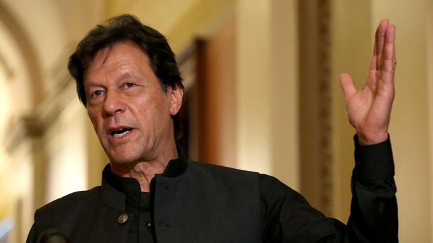 Imran Khan had acknowledged the presence of the large number of militants in his country during an interaction at the US Institute of Peace, a Washington-based think tank funded by the US Congress.(AFP)