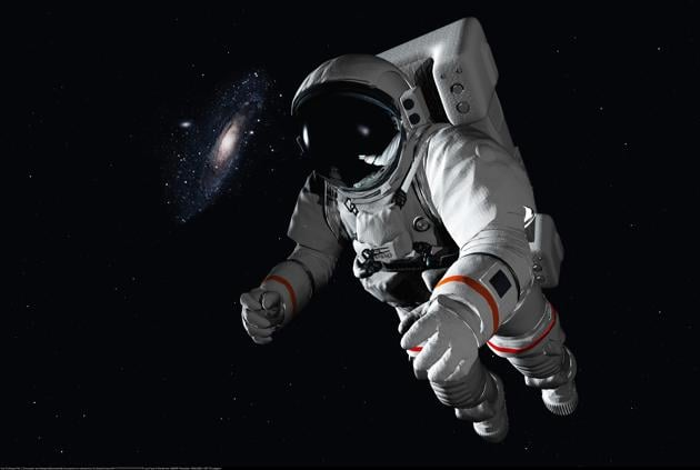 The astronaut in outer space.(Getty Images/iStockphoto)