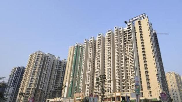 Homebuyers hope that the state-owned NBCC will not only construct incomplete housing projects but also provide other amenities in the housing projects where homebuyers are already living. (Photo by Sunil Ghosh / Hindustan Times)