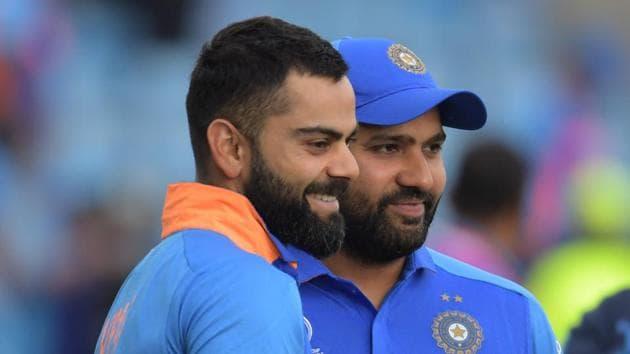 File image of India cricketers Rohit Sharma and Virat Kohli.(AFP)