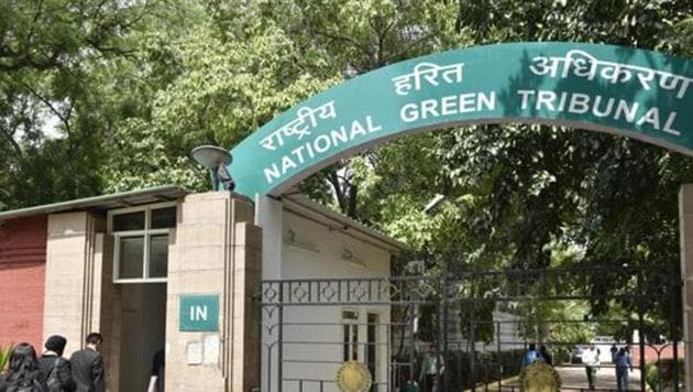 General View of National Green Tribunal in New Delhi , India.(Hindustan Times)