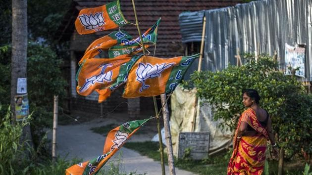 One lesson that the BJP is likely to take away from its success in the 2019 elections was the focus it put on its anti-poverty schemes, which directly touched the poorest families.(Bloomberg)