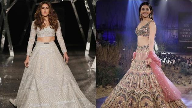 Nudes and pastels dominated Day 5 of ICW 2019, Sara and Rakulpreet turn showstoppers.