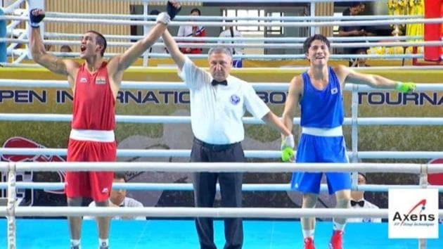 Ashish Kumar wins gold.(BFI/Twitter)