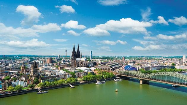 Cologne, a scenic city, is two hours away from Frankfurt(Shutterstock)