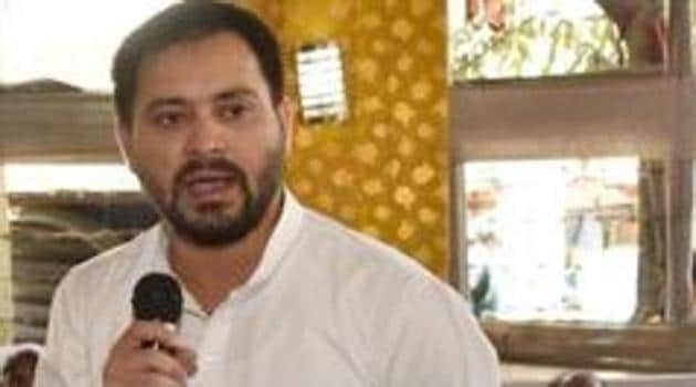 Tejashwi Prasad Yadav who has remained aloof from state politics after RJD's drubbing in the Lok Sabha polls this year, has avoided attending the house proceedings regularly as he is still unhappy with the interference of his siblings.(HT PHOTO.)