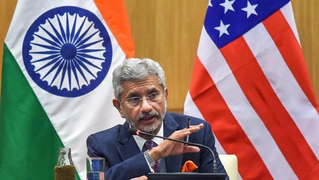 India's advantage is that it has the right person in S Jaishankar, a former envoy to US, to navigate ties with Washington.(PTI Photo)