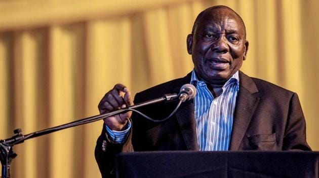 South African President Cyril Ramaphosa has made public an affidavit, in which he declares to the Zondo Commission of Inquiry into State Capture his meetings with the controversial Gupta brothers.(AFP File Photo)