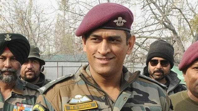 MS Dhoni holds a honorary rank in Indian Army.(File Photo)