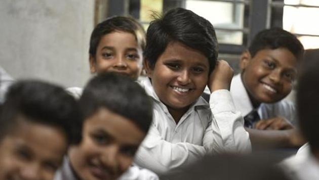 Happiness class(Sanchit Khanna/HT PHOTO)