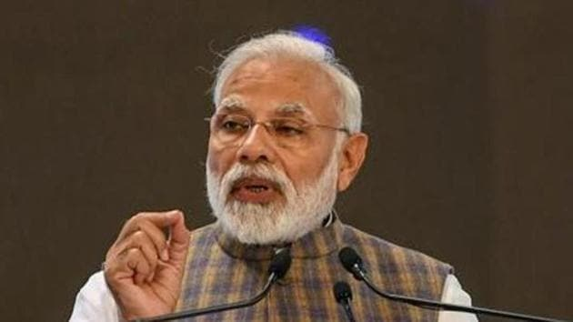 """PM Modi said, """"I fervently hope that Chandrayaan 2 mission will inspire our youth towards Science and Innovation. Afterall science is a path of development towards.""""(Photo: PTI)"""