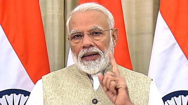 PM Modi will address the nation today through his monthly radio programme 'Mann ki Baat' at 11 am.(Photo: ANI)
