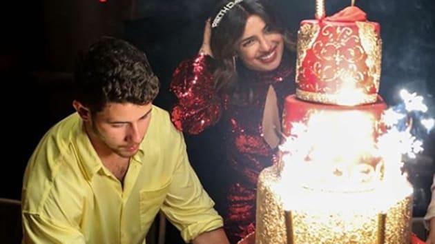 Priyanka Chopra's massive birthday cake cost a bomb too.