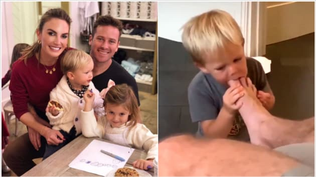 Armie Hammer's wife Elizabeth Chambers has assured fans that their children's safety is their first priority.