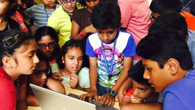 Heritage Xperiential Learning School in Sector 62 is following the 'Bring Your Own Device' model.(Sourced)