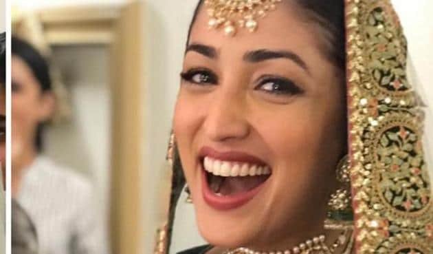 Yami Gautam is happy to don the bridal look for Ginny Weds Sunny.