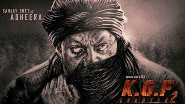 Sanjay Dutt will play the principle antagonist, named Adheera, in Yash starrer KGF Chapter 2.(Instagram)