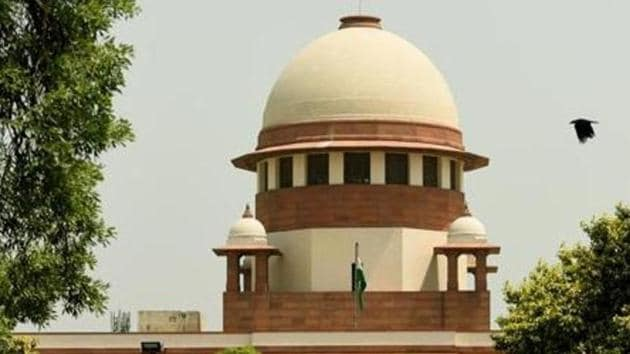 The Supreme Court on Monday agreed to take up a public interest petition (PIL) seeking new guidelines to protect the identities of persons accused of sexual harassment or assault, issuing notices to the government for its view on the demand.(Amal KS/HT PHOTO)