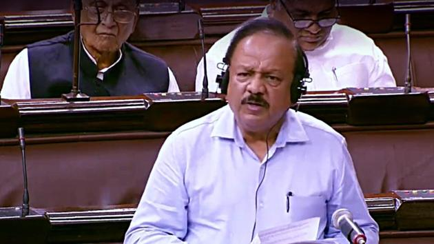 Genuine concerns over the National Medical Commission Bill have been addressed and the legislation will be one of the biggest reforms, Union minister Harsh Vardhan said in Lok Sabha on Monday.(ANI file)