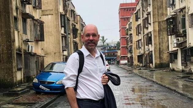 Uwe Brandes started his 10-day India tour from city.(US Consulate General Mumbai)