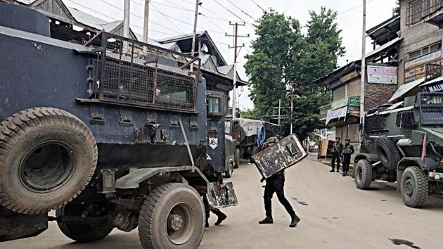 An order by the Jammu & Kashmir police seeking details on mosques and their management committees, that went viral on social media on Monday was enough to set tongues wagging about the possibility of the Centre revoking Article 35A soon.(ANI Photo)