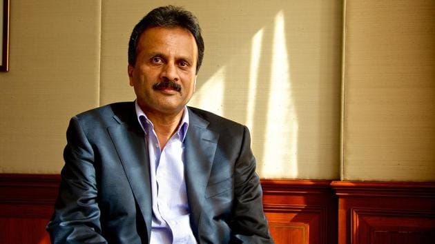 VG Siddhartha chairman of Coffee Day Enterprises that runs Cafe Coffee Day outlets. Photo by Priyanka Parashar/Mint