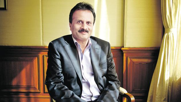 26 September 2015, New Delhi: VG Siddhartha chairman of Coffee Day Enterprises that runs Cafe Coffee Day outlets.(Mint photo)