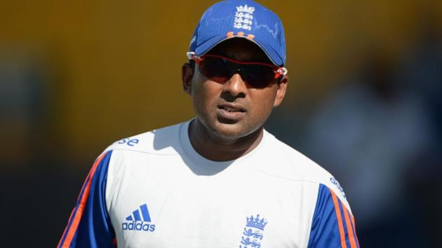 England batting consultant Mahela Jayawardena during a nets session.(Getty Images)