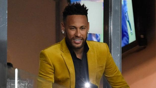 File image of Neymar(AFP)