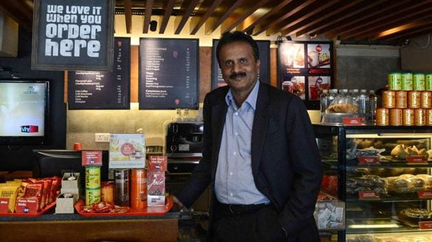 Cafe Coffee Day founder VG Siddhartha went missing from Mangaluru on Monday.(AFP file photo)