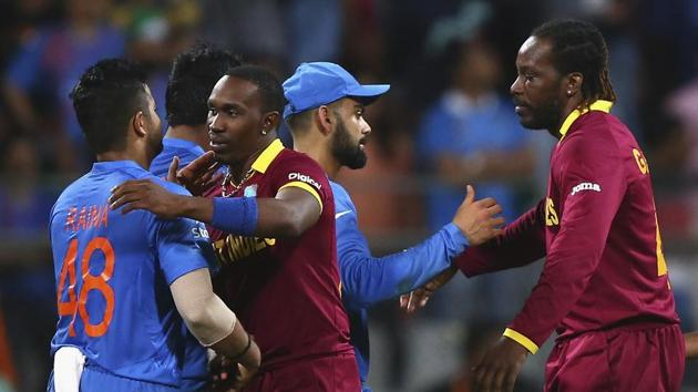 India vs West Indies has always been a fiery battle in T20Is(Getty Images)