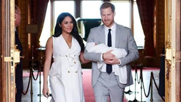 Meghan and Harry welcomed their son, Archie Harrison Mountbatten-Windsor on May 6, this year.(sussexroyal/Instagram)