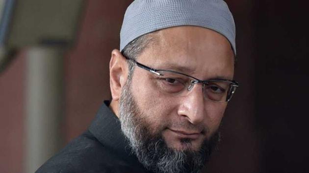 Asaduddin Owaisi, leader of All India Majlis-e-Ittehadul Muslimeen, AIMIM.(HT Photo)