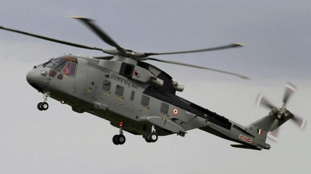 A file photo of AgustaWestland (AW101) VVIP Airforce Helicopter. (PTI)