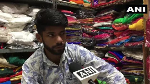 This textile trader from MP is mulling to get rid of the famous surname.(Photo: ANI)