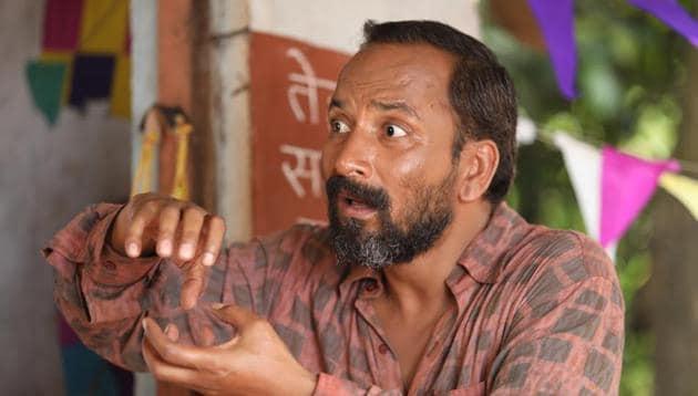 Actor Deepak Dobriyal in a still from Raj Gupta's Baba, produced by Sanjay Dutt(HTPHOTO)