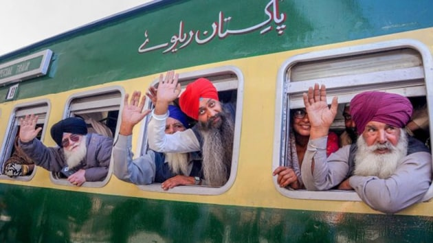 The Pakistan high commission in New Delhi issued visas to the Indian pilgrims on July 26.(PTI Photo)