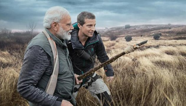 PM Narendra Modi will feature in a special episode of Bear Gryll's Man Vs Wild.