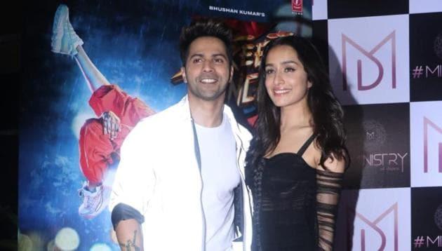 Varun Dhawan and Shraddha Kapoor star in Street Dancer 3D.(Varinder Chawla)