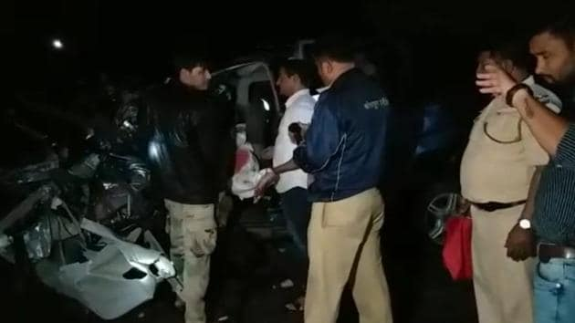 According to the police, the deceased were residents of Dharwad district in Karnataka.(HT photo)