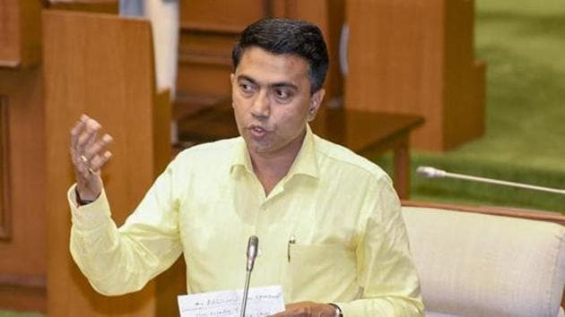 Goa Chief Minister Pramod Sawant said the 80% restriction will be limited to permanent jobs in industries. He added the industries will have to ensure a minimum of 60% permanent staff.(PTI file photo)