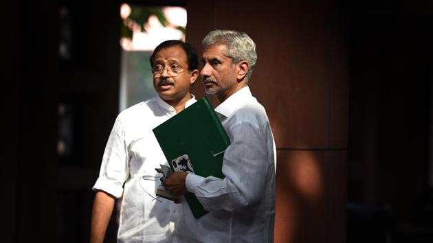 On August 2, Jaishankar will participate in the East Asia Summit (EAS) foreign ministers' meeting and the Asean Regional Forum (ARF) meeting.(Raj K Raj/HT PHOTO)