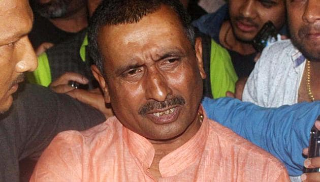FILE Photo of Bharatiya Janata Party MLA Kuldeep Singh Sengar.(ANI File)