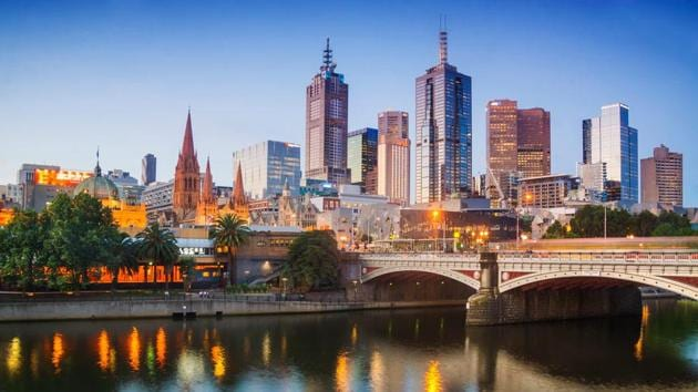 Melbourne's skyline at dusk.(Getty Images/iStockphoto)